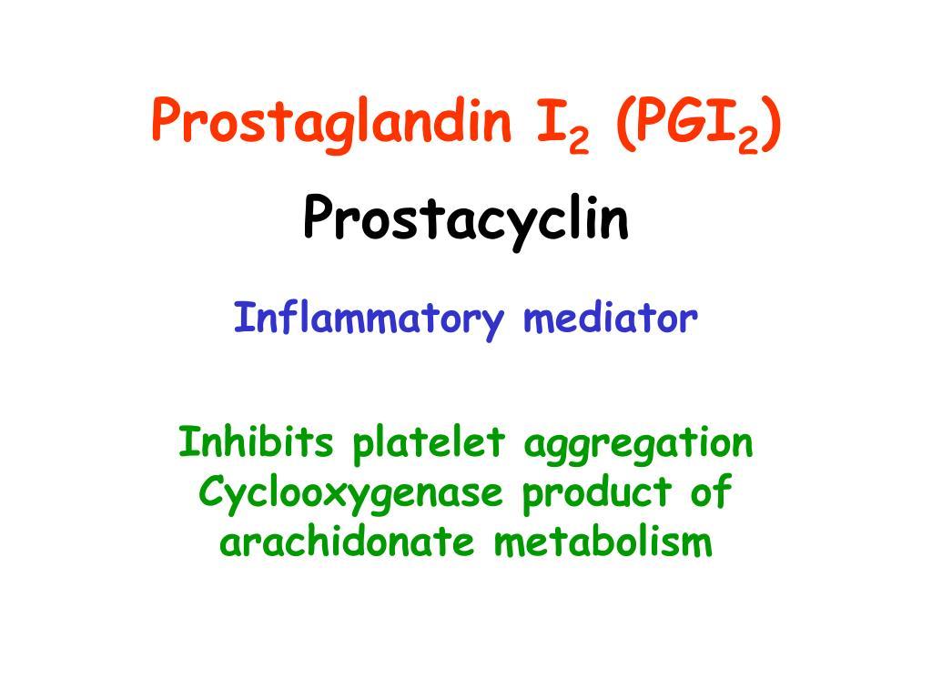 Prostaglandin I