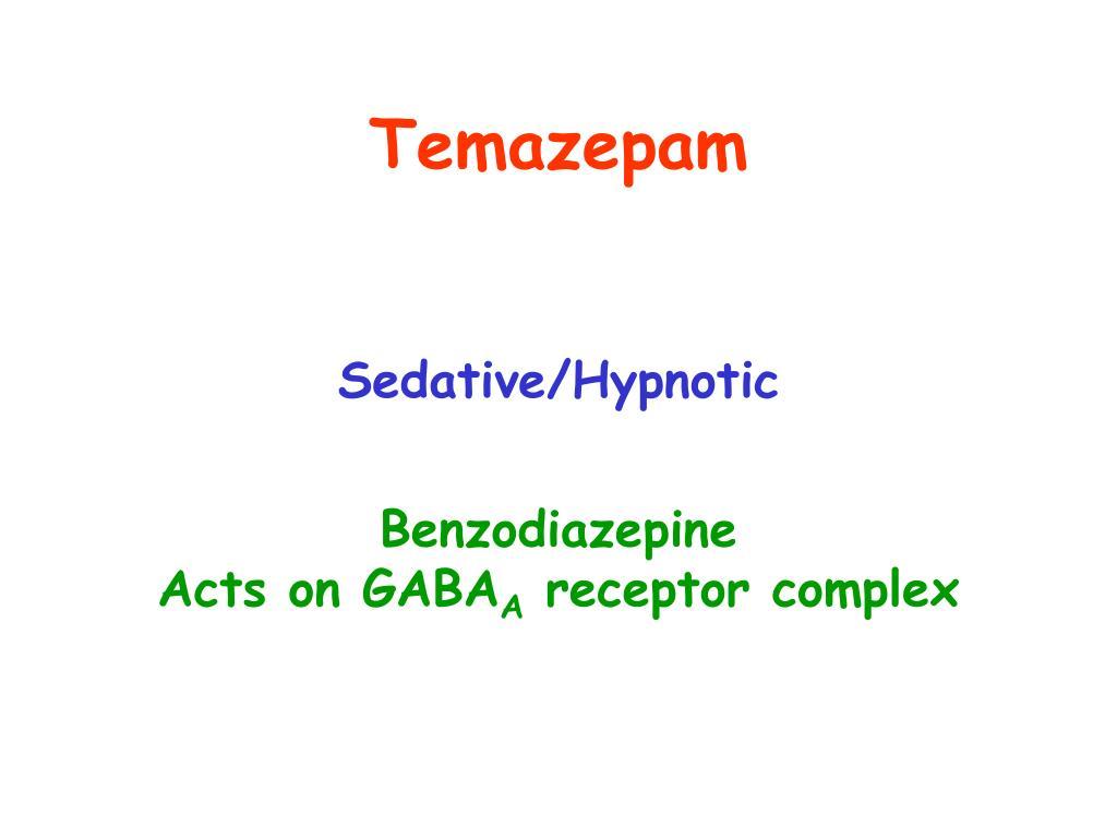 Temazepam