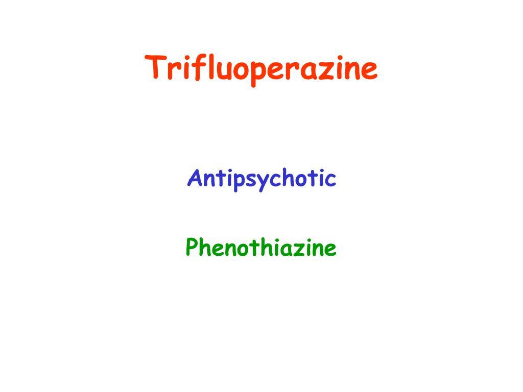 Trifluoperazine
