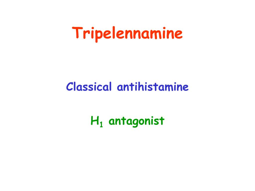 Tripelennamine