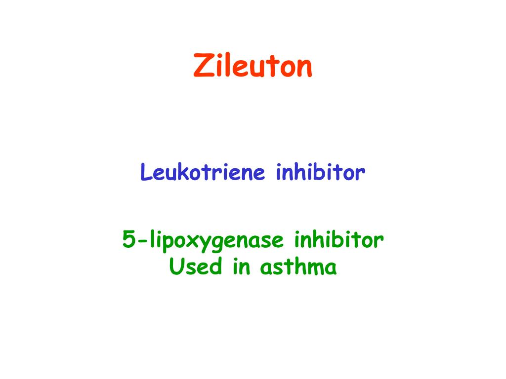 Zileuton