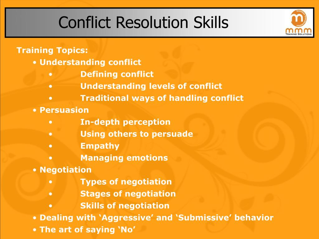 conflict resoution We and our partners use cookies on this site to improve our service, perform analytics, personalize advertising, measure advertising performance, and remember website preferences.