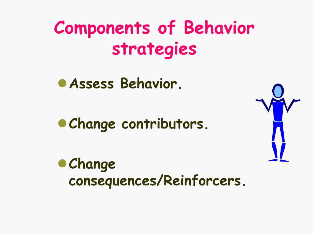 Components of Behavior strategies