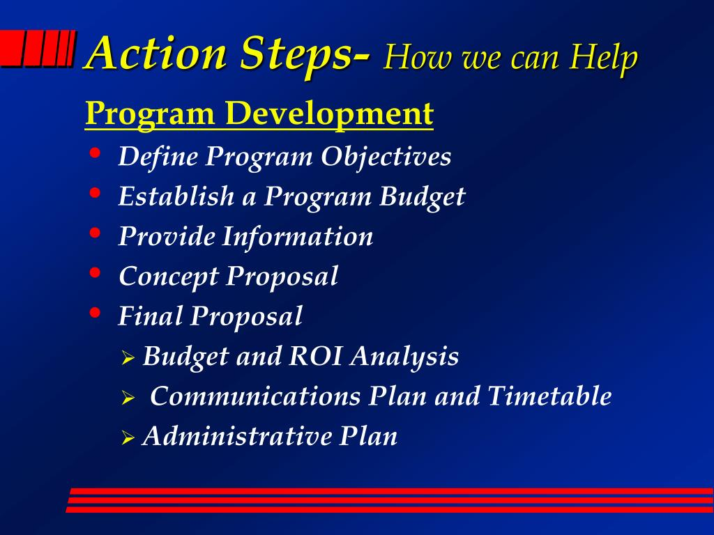 Action Steps-