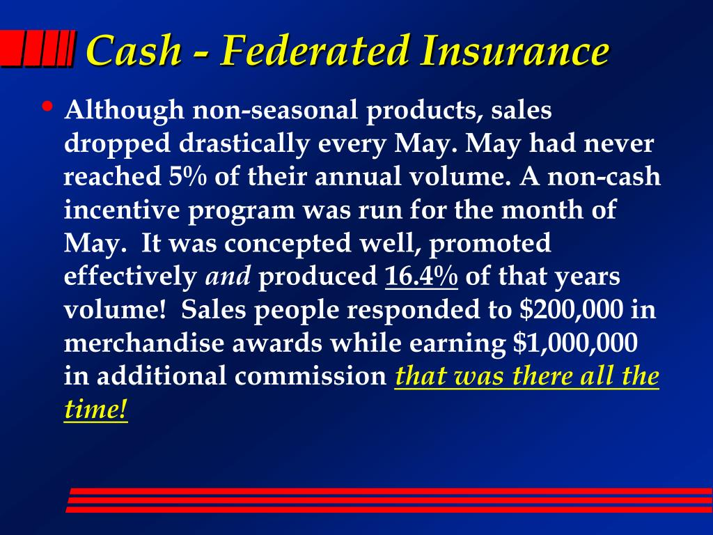 Cash - Federated Insurance