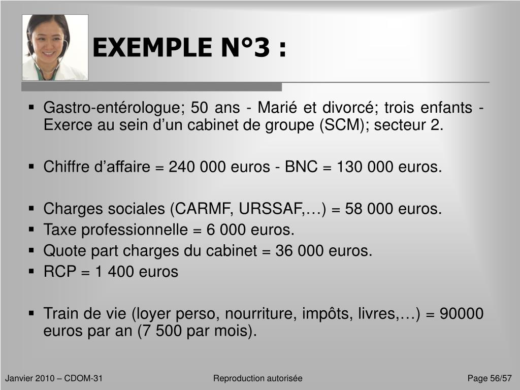 EXEMPLE N°3 :