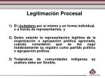 legitimaci n procesal