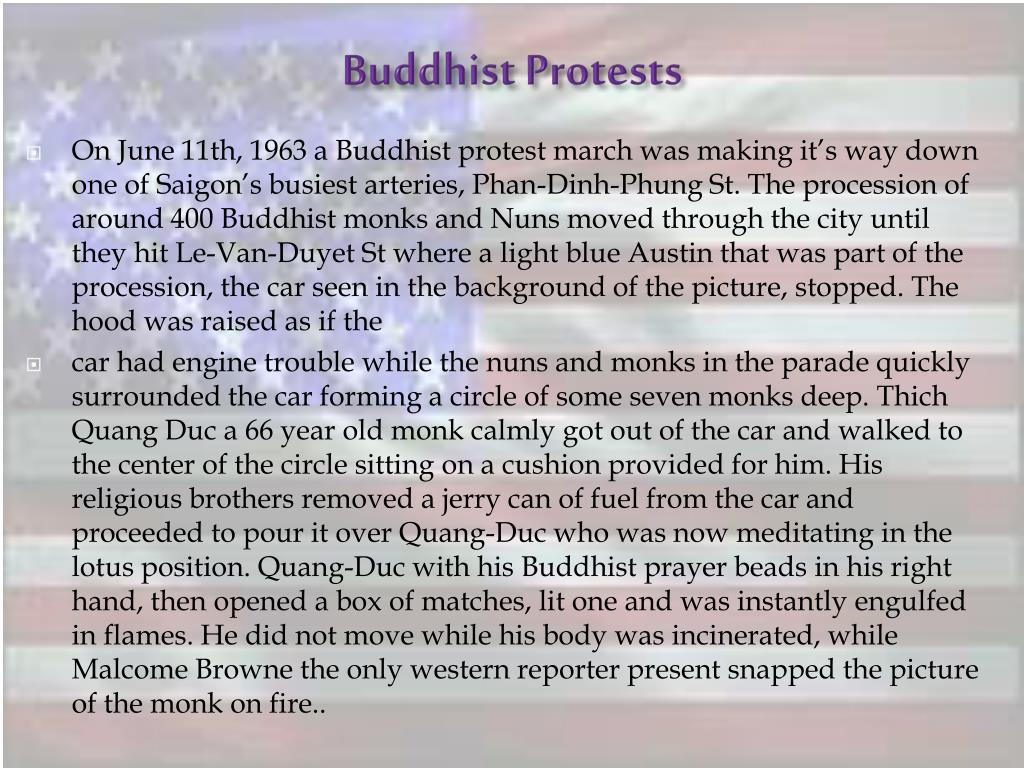 Buddhist Protests