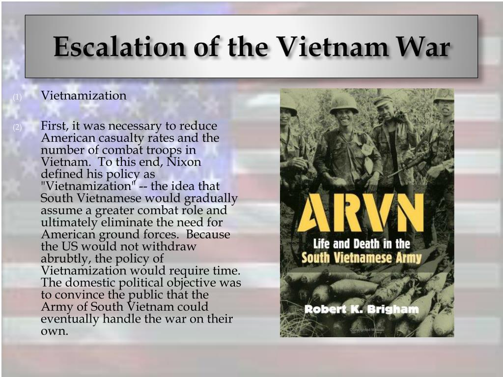 Escalation of the Vietnam War