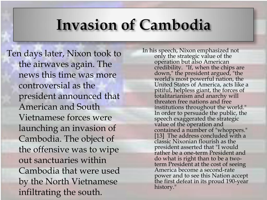 Invasion of Cambodia