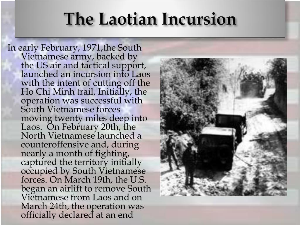 The Laotian Incursion