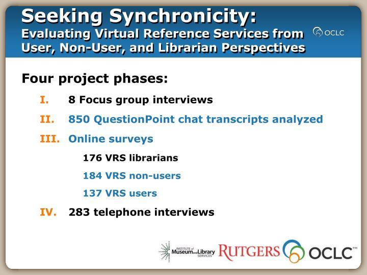 Seeking Synchronicity: