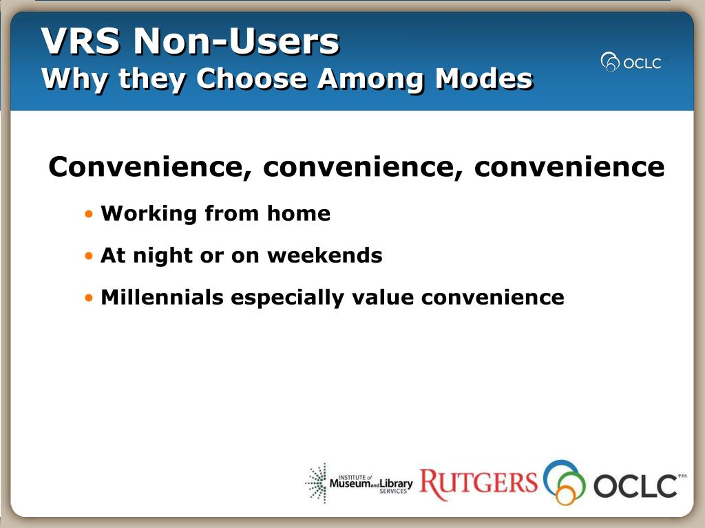 VRS Non-Users