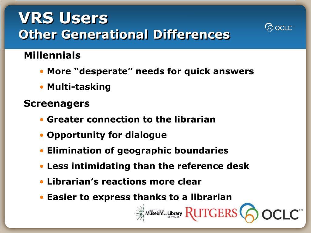 VRS Users