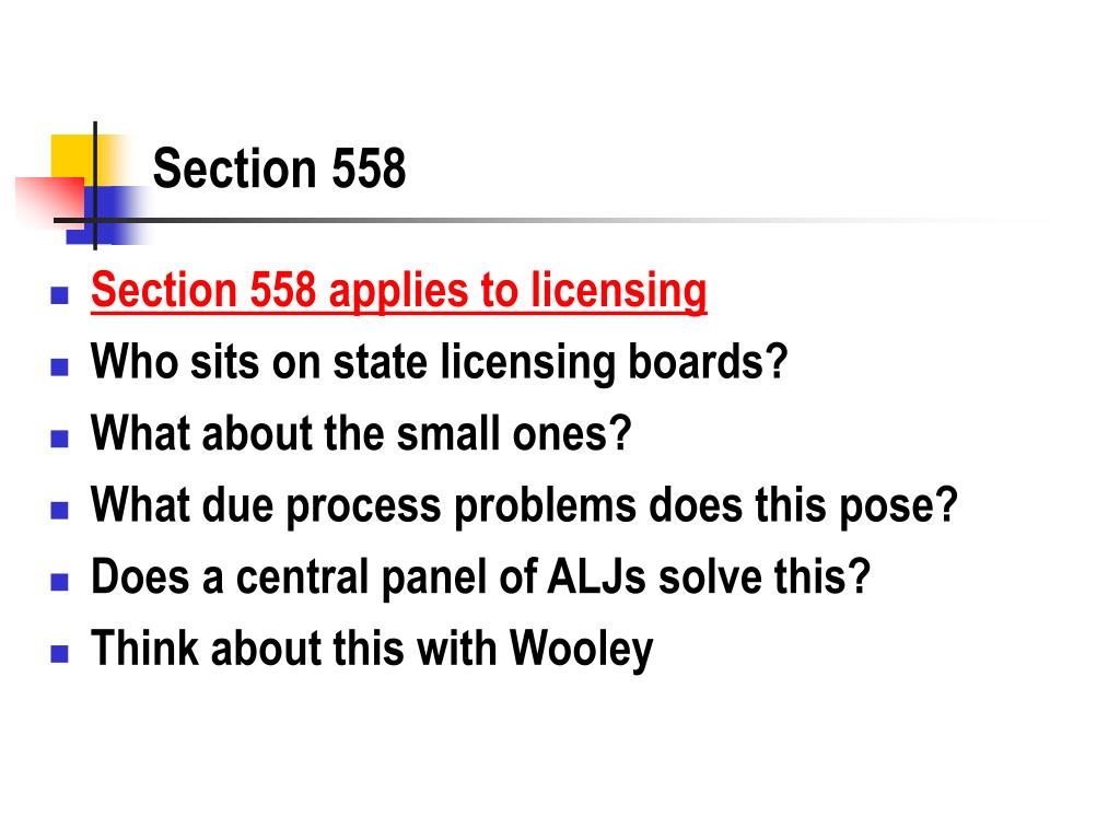 Section 558