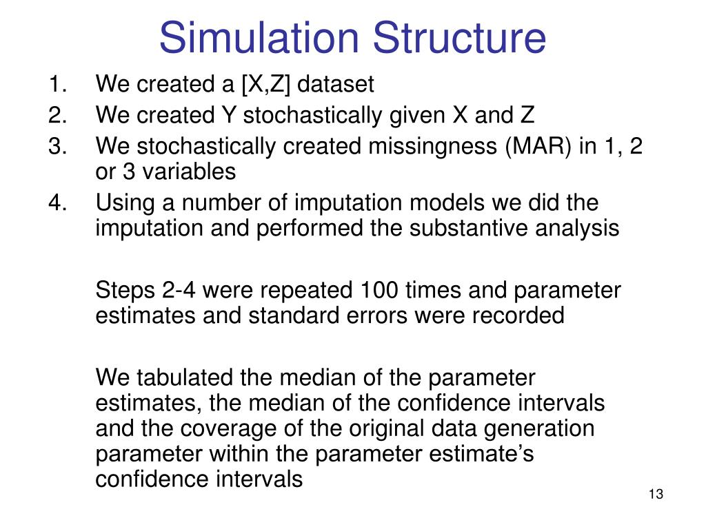 Simulation Structure