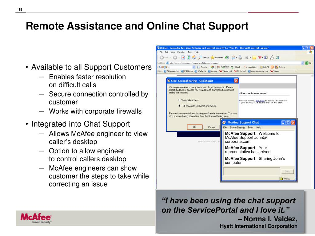 """""""I have been using the chat support on the ServicePortal and I love it."""""""