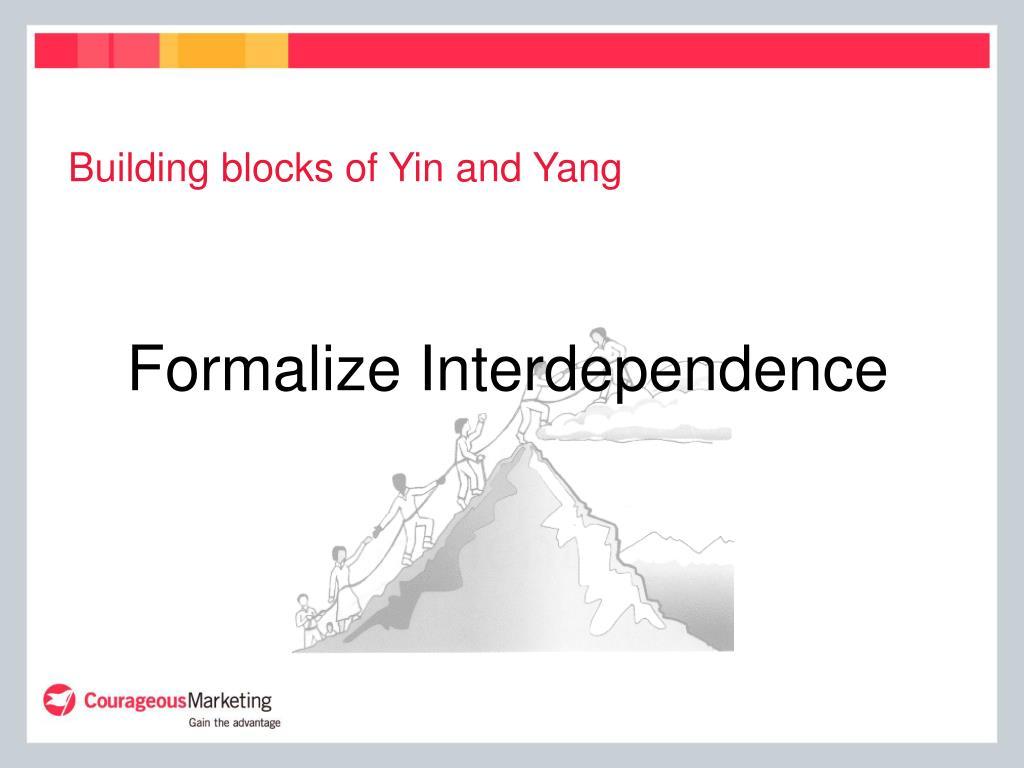 Building blocks of Yin and Yang