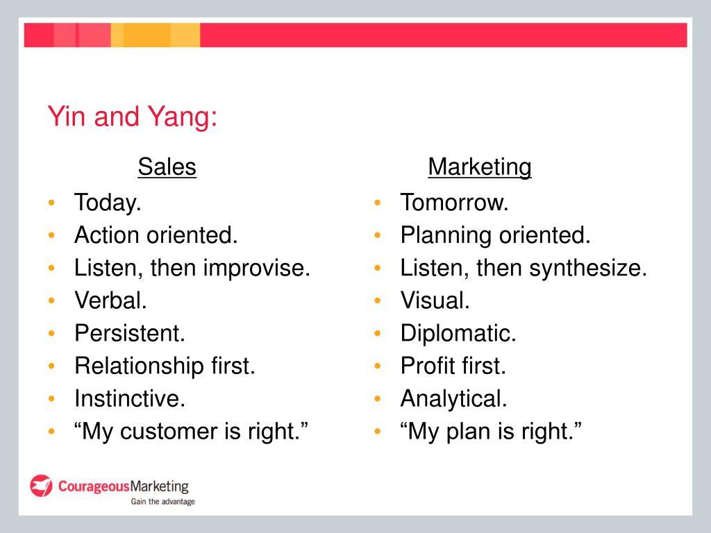 Yin and Yang:
