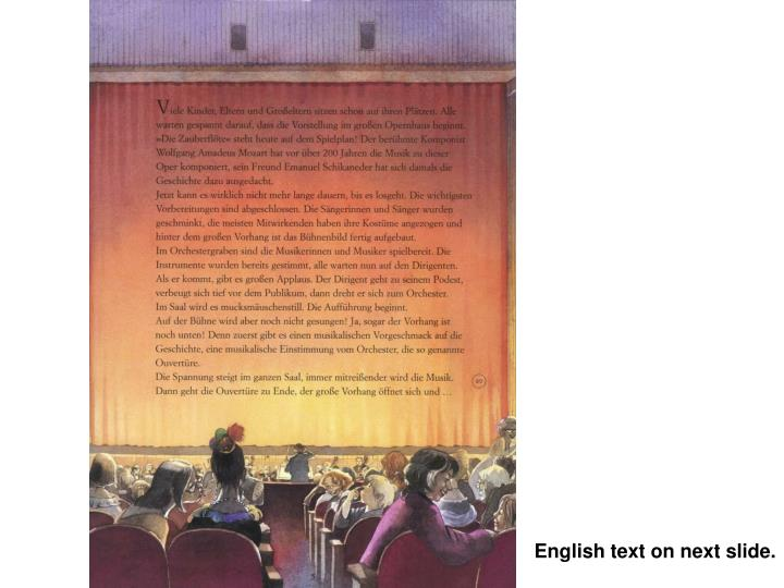 English text on next slide.