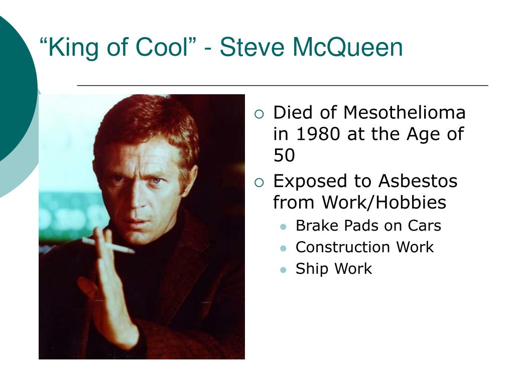 """King of Cool"" - Steve McQueen"