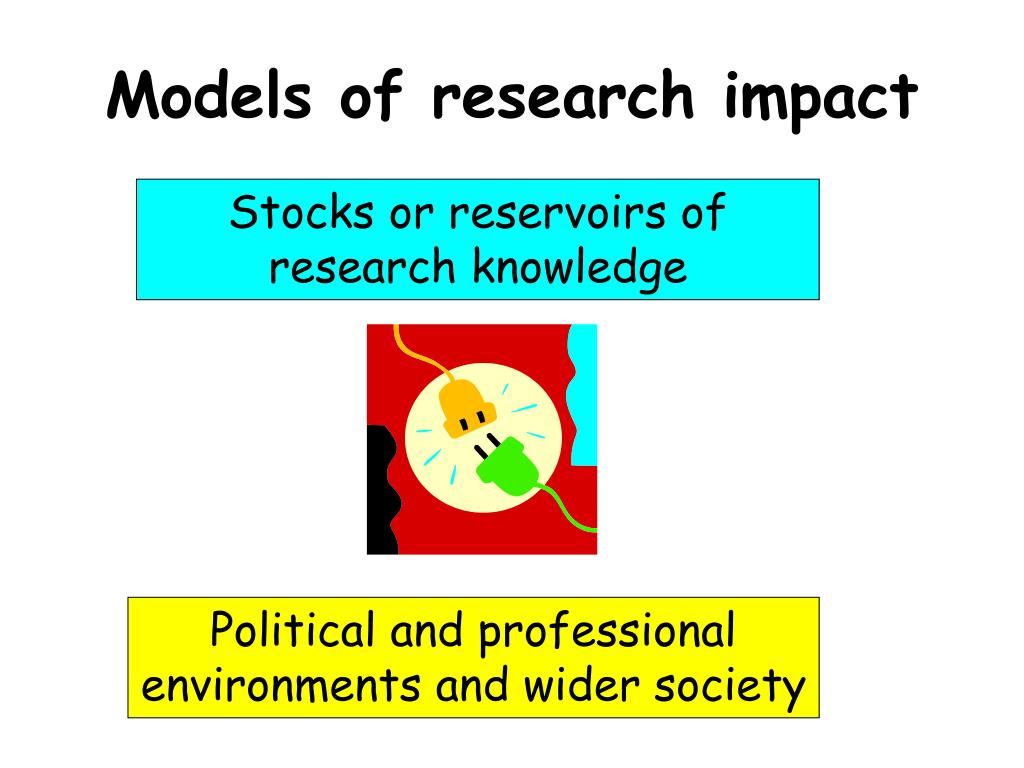 Models of research impact