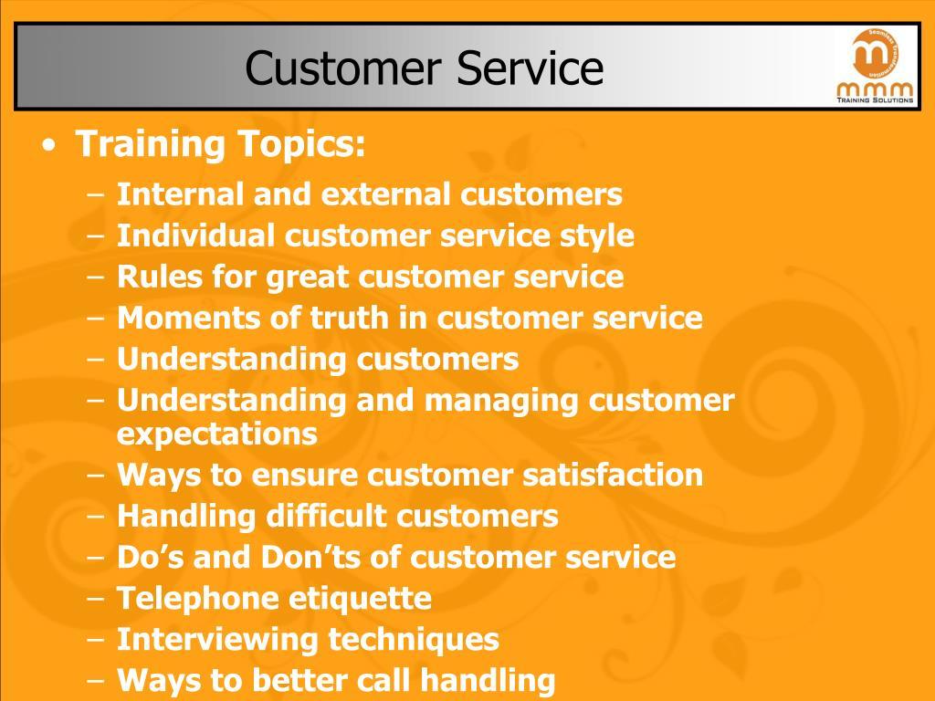 customer service l.