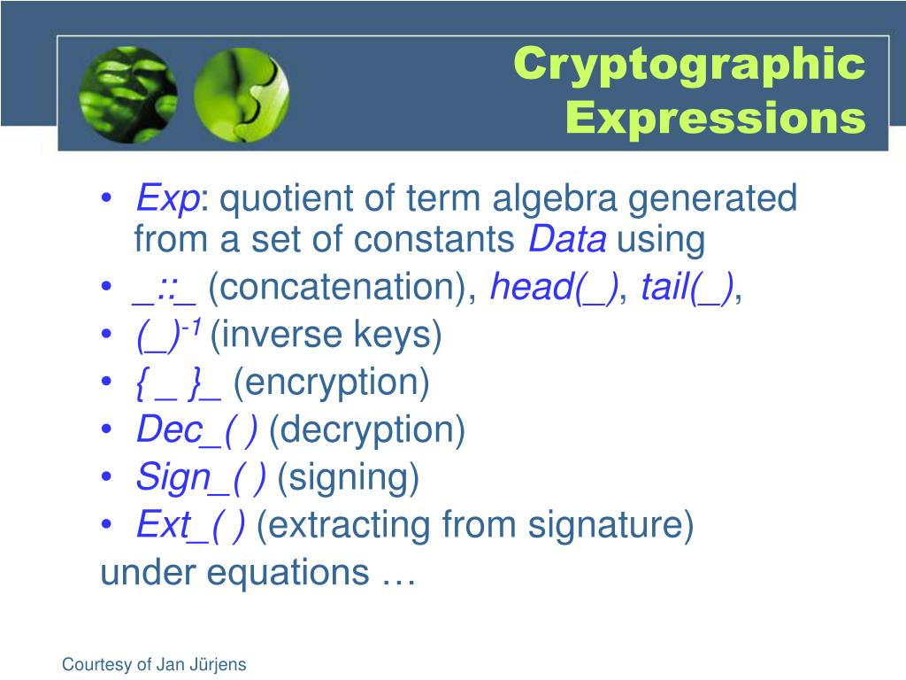 Cryptographic Expressions