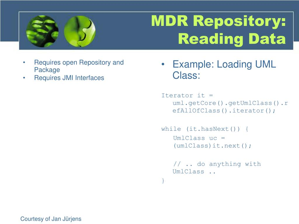 Requires open Repository and Package