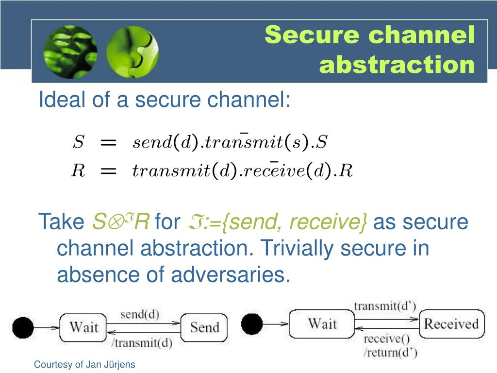 Secure channel abstraction