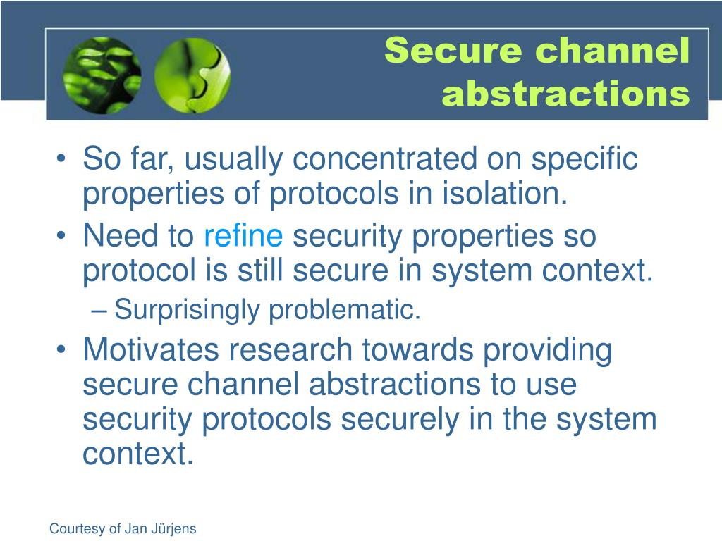 Secure channel abstractions