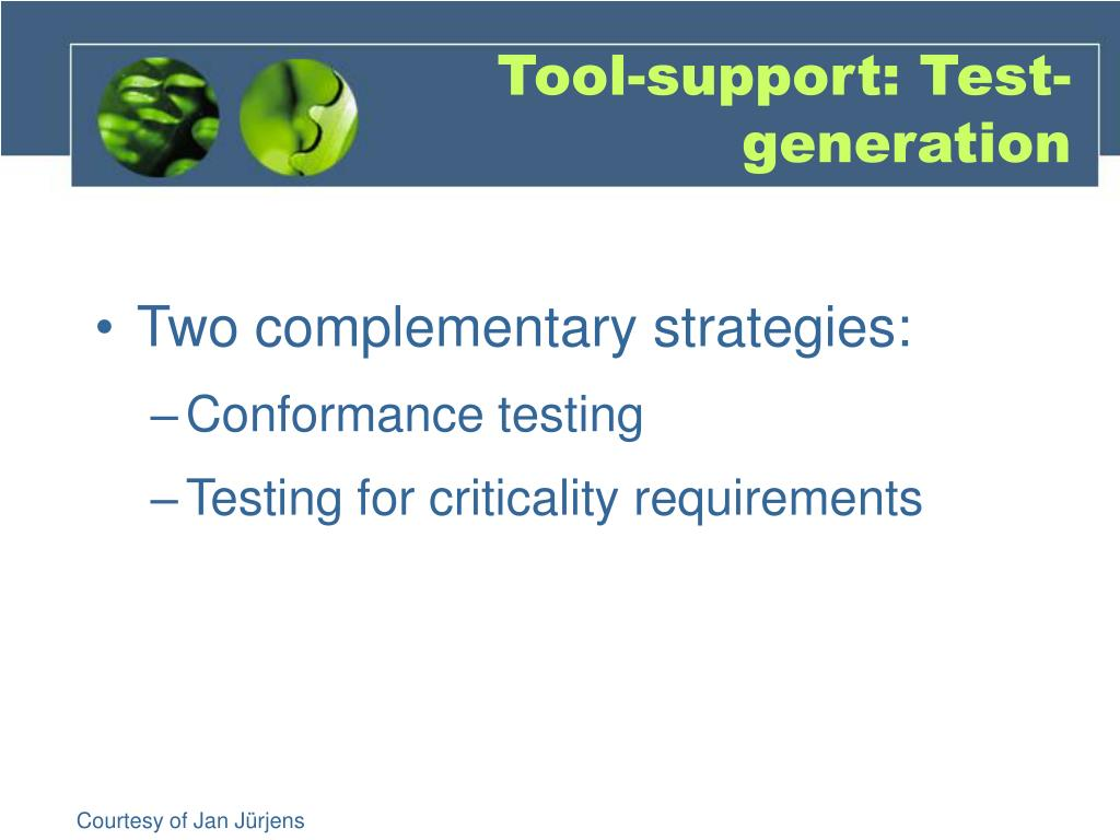 Tool-support:
