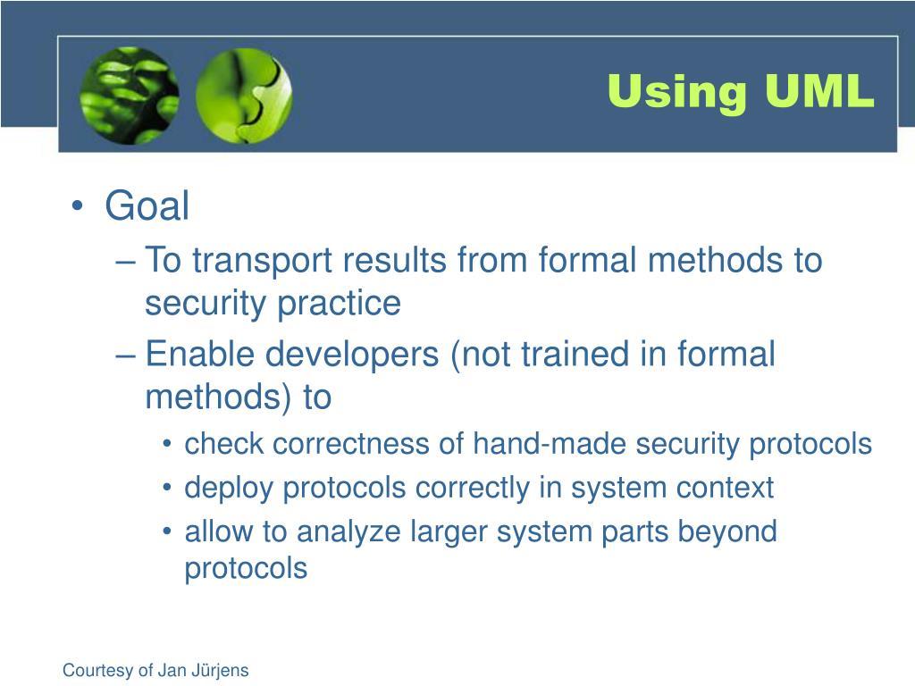 Using UML