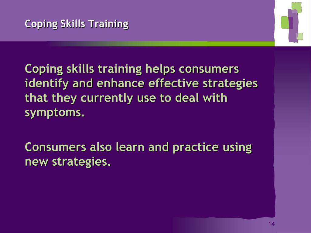 Coping Skills Training