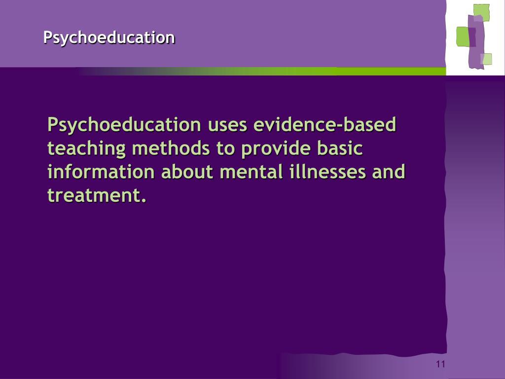 Psychoeducation