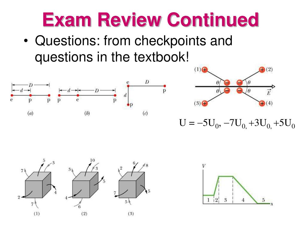 Exam Review Continued