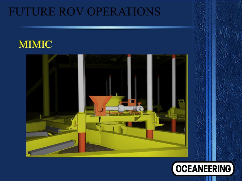 FUTURE ROV OPERATIONS
