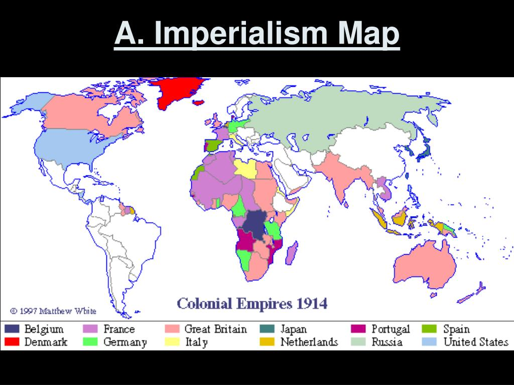 A. Imperialism Map