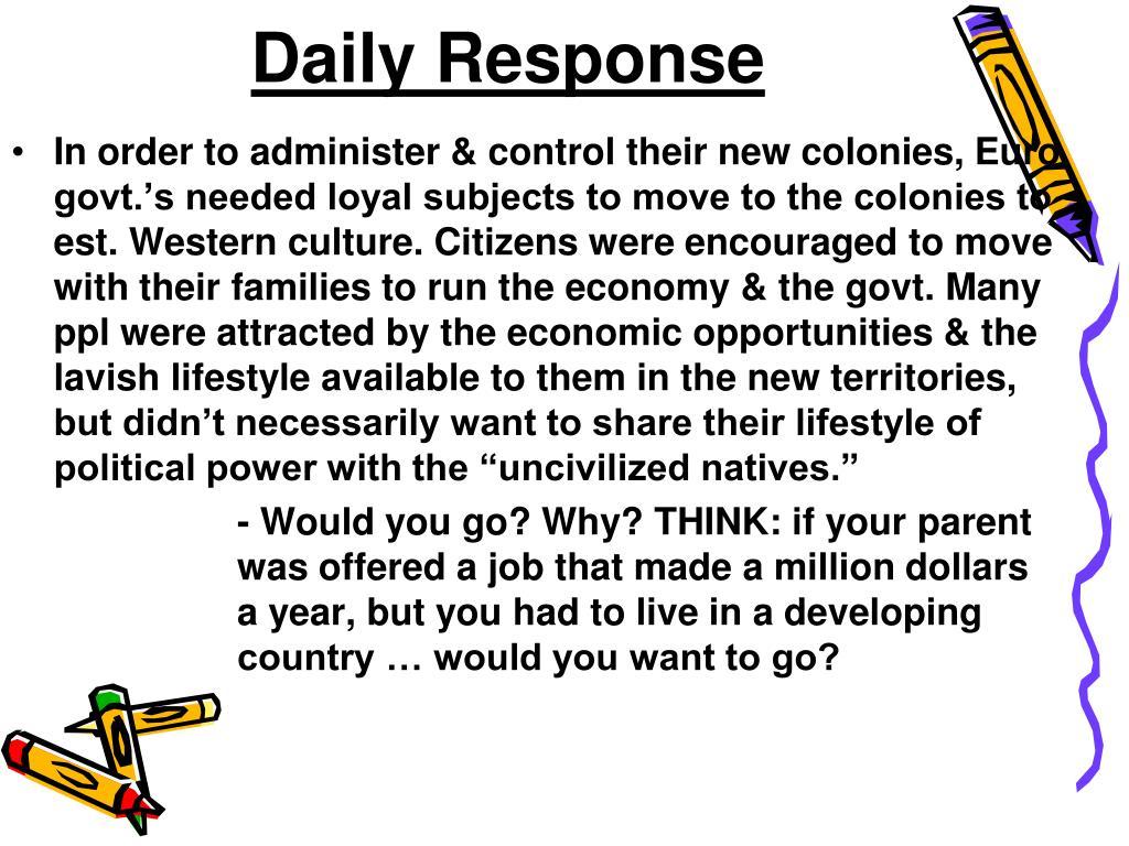Daily Response
