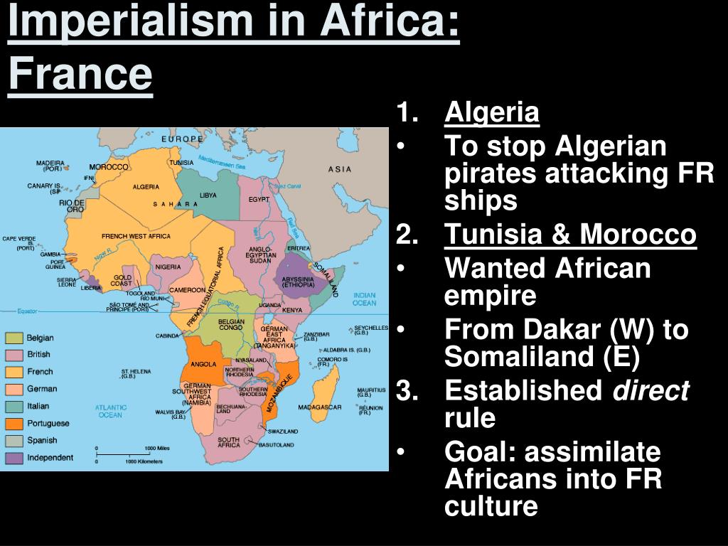 Imperialism in Africa: France