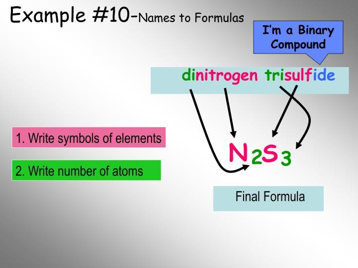 Example #10-