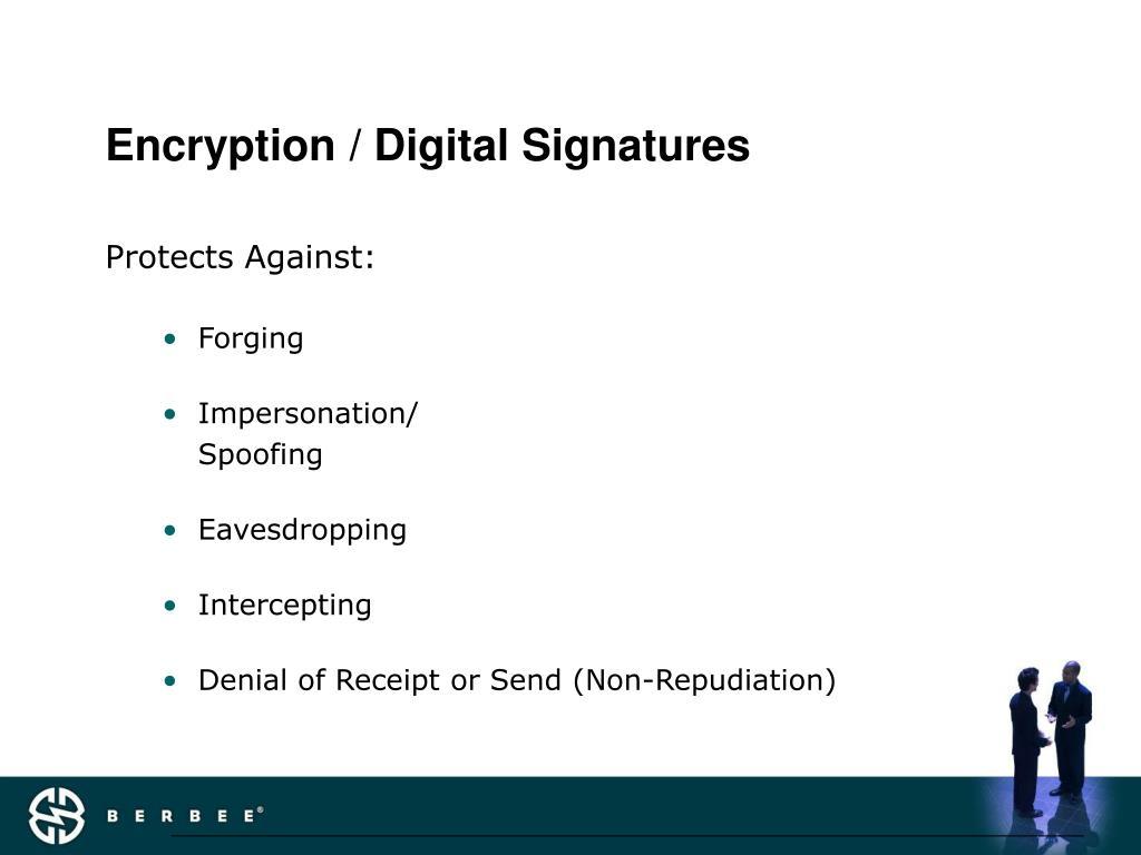 Encryption / Digital Signatures