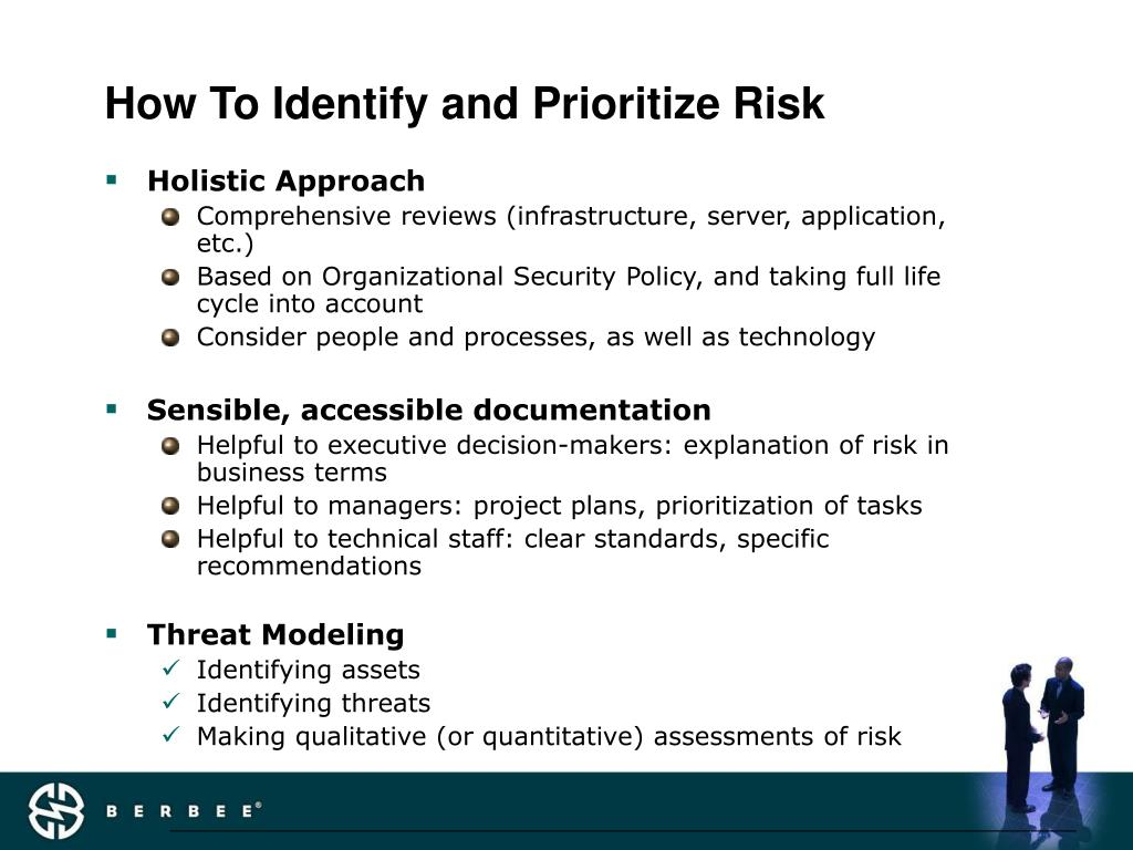 How To Identify and Prioritize Risk
