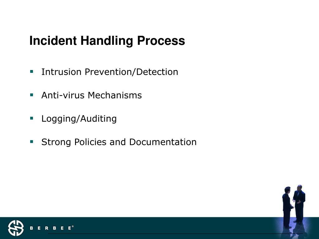 Incident Handling Process