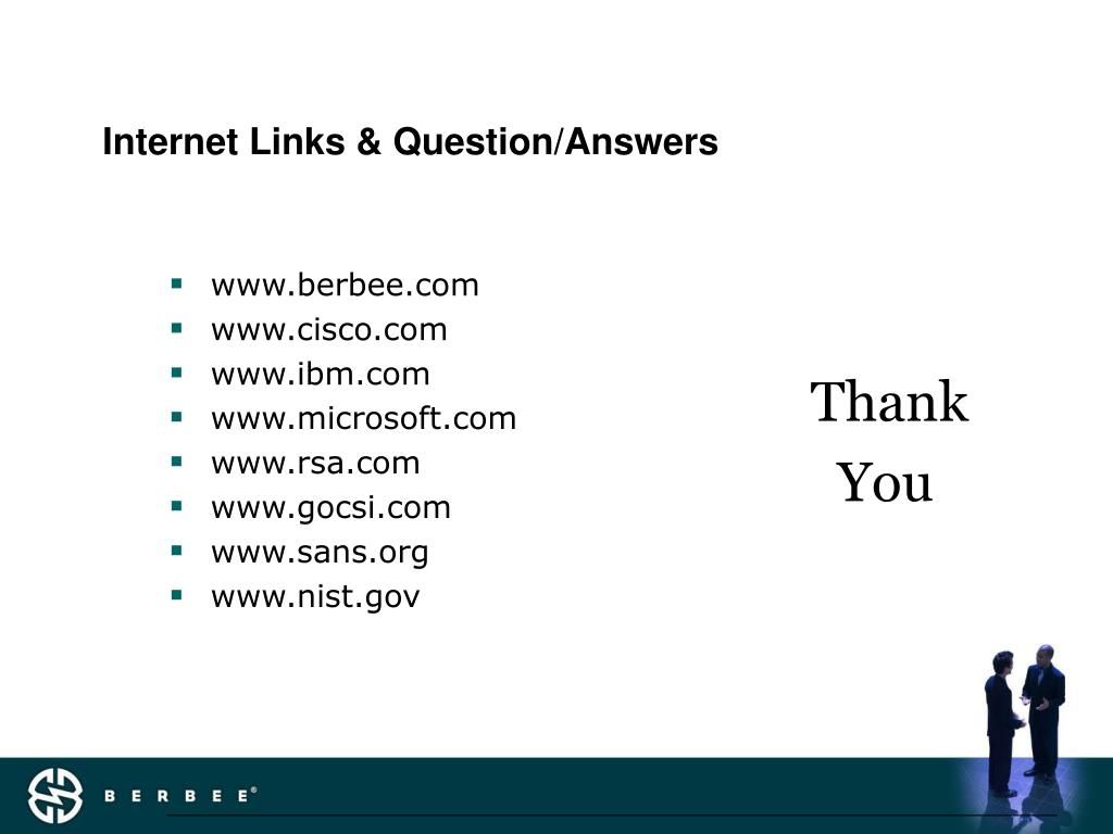 Internet Links & Question/Answers