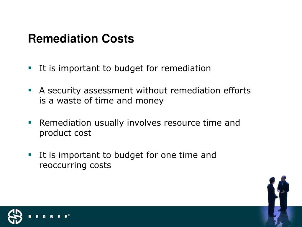 Remediation Costs