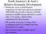 north america s asia s relative economic development