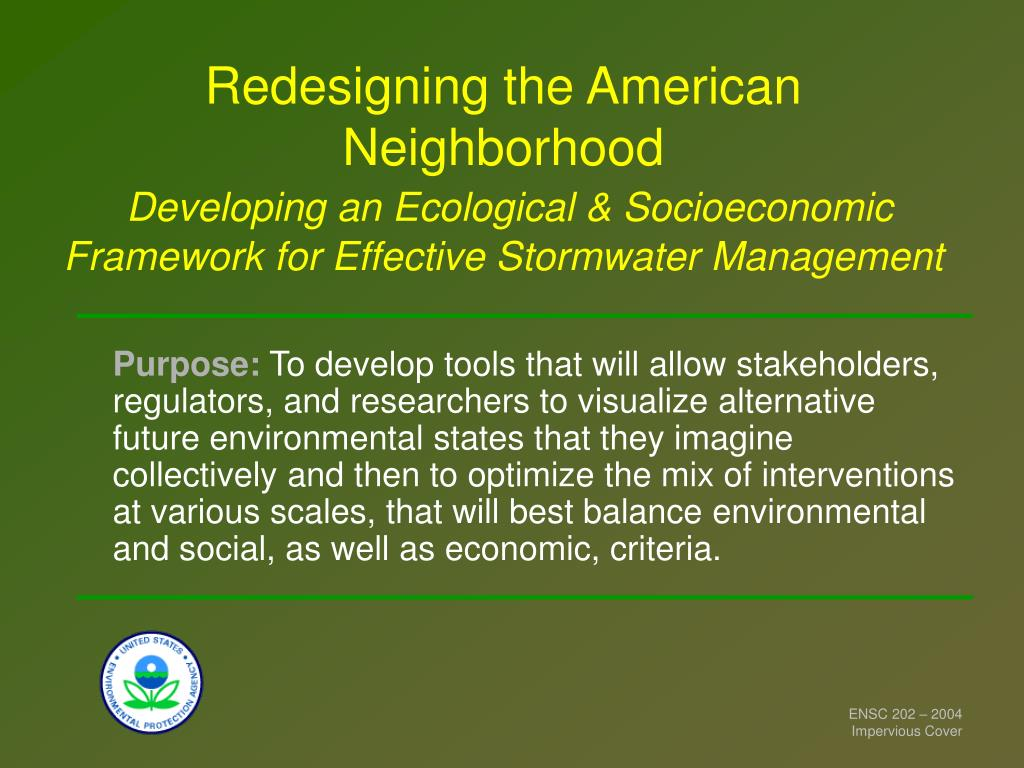 Redesigning the American Neighborhood