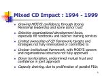 mixed cd impact 1994 1999