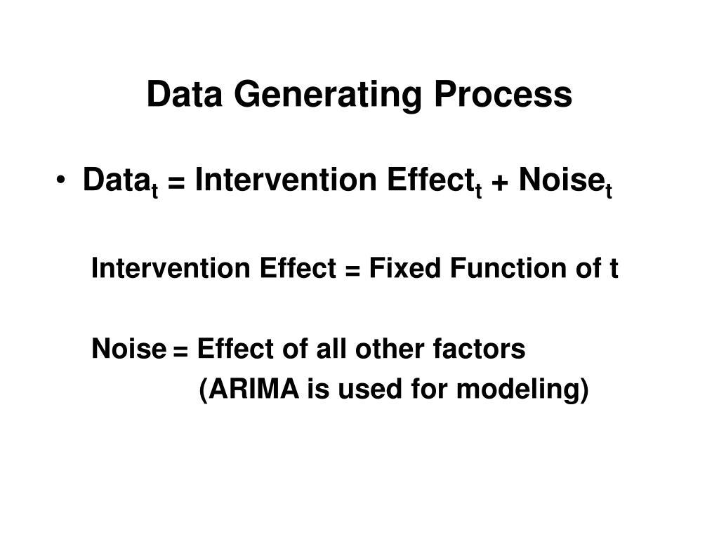 Data Generating Process